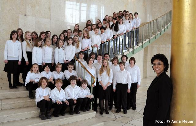 Kinderchor Frankfurt im Hessischen Rundfunk