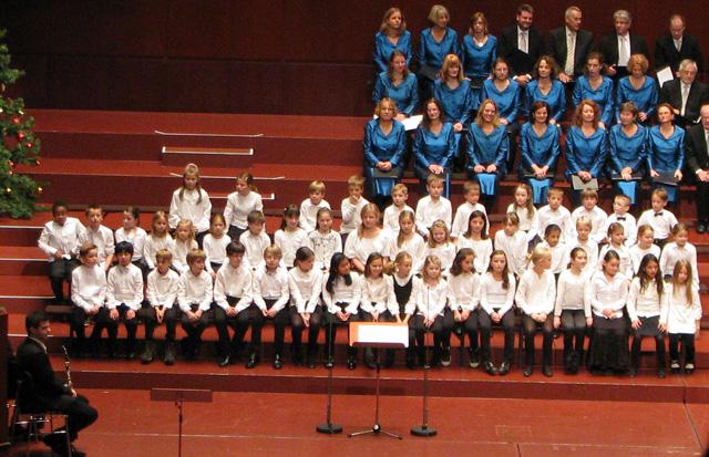 Konzert des Vorchors in der Alten Oper, Frankfurt